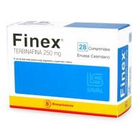 Finex Comprimidos 250 mg 28