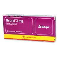 Neuryl Comprimidos 2,0mg 30