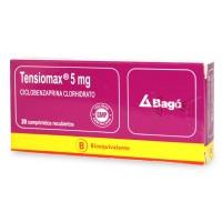 Tensiomax Comprimidos Recubiertos 5 mg 20